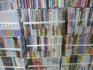 名古屋市緑区にてマンガ・ライトノベルなどを買取いたしました