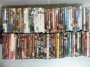 豊田市内にて洋画DVDなどを買取いたしました