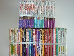 豊田市よりアダルト文庫などを買取いたしました