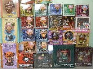 豊田市内にてワンピースのおもちゃなどを買取いたしました