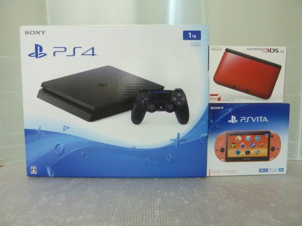 PS4・VITAほかソフト・ハード