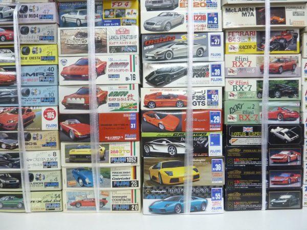 タミヤのラジコン・プラモデルほか大量買取