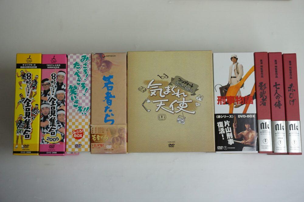 昭和のお笑い・ドラマDVD-BOXほか